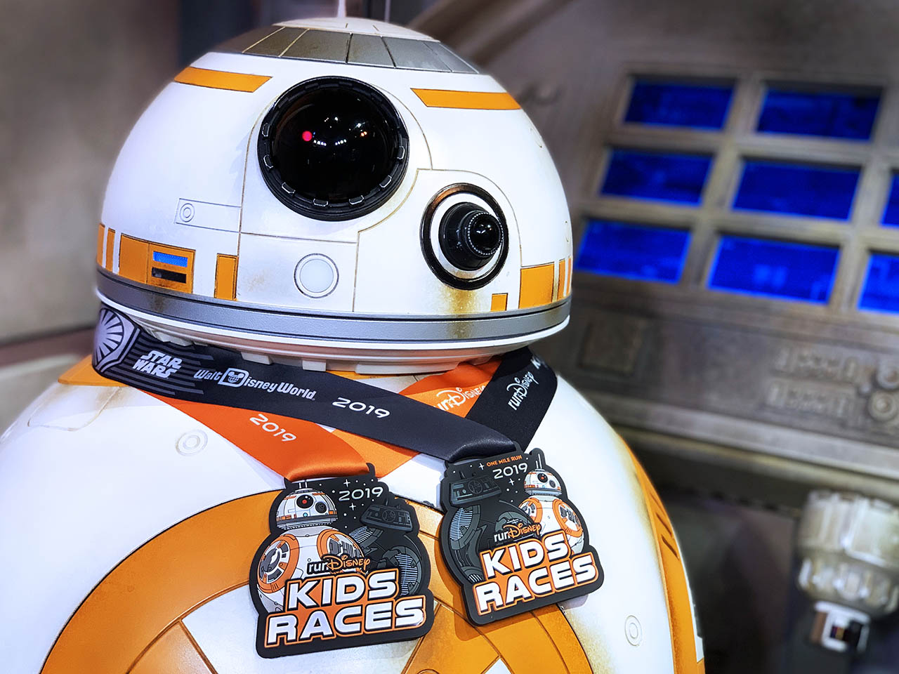 runDisney medals for the runDisney Kids Races | BB-8 and BB-9E