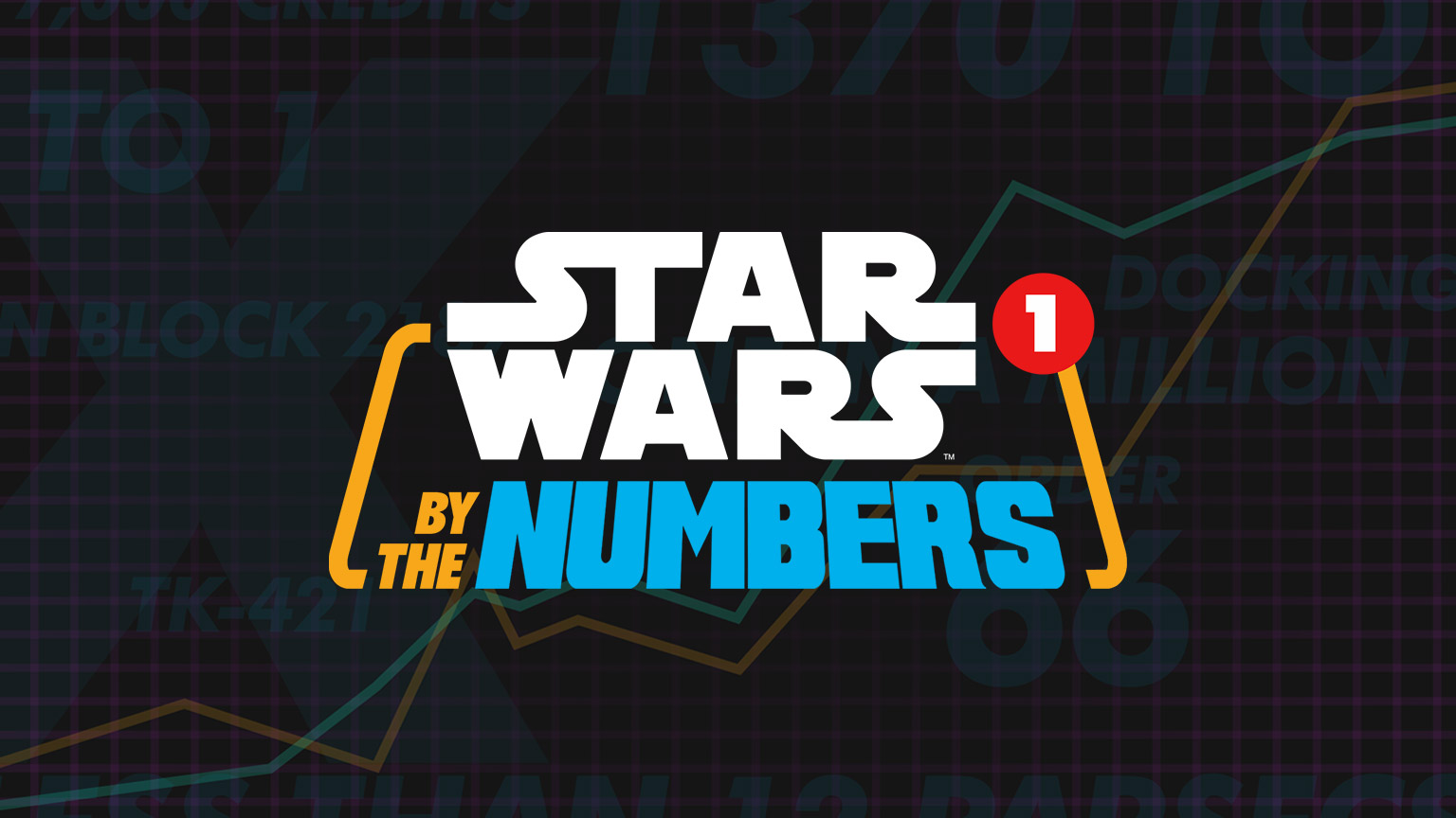 The logo for Star Wars By the Numbers.