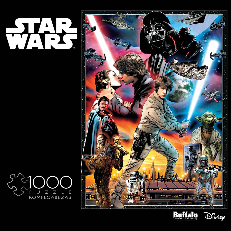A Star Wars puzzle.