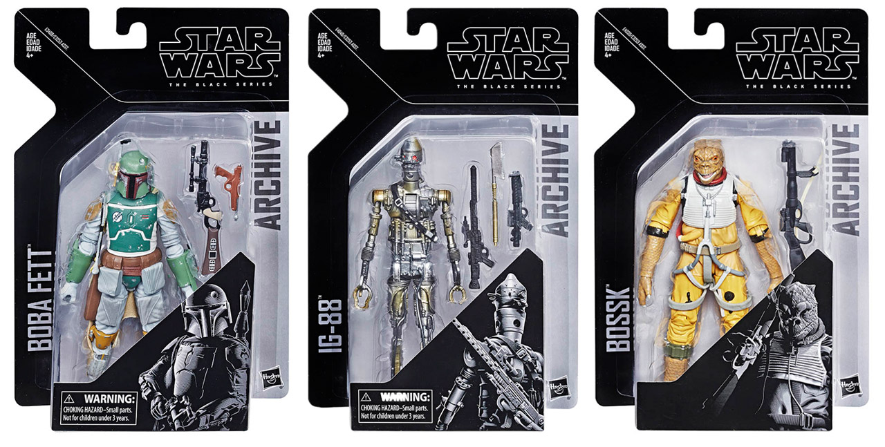 Star Wars The Black Series Archive collection.