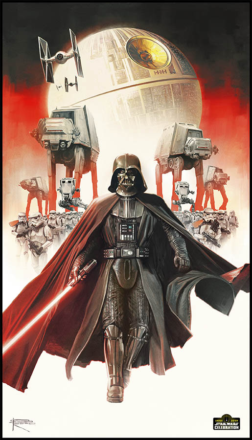Star Wars Celebration 2019 Art by Brian Rood.