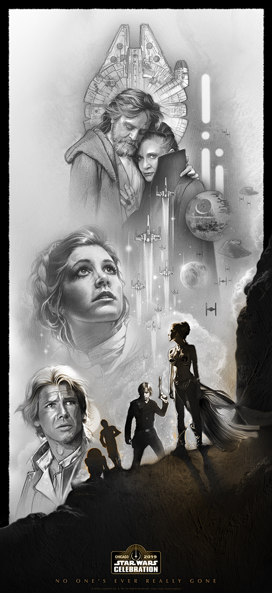 Star Wars Celebration 2019 Art by Steve Anderson.