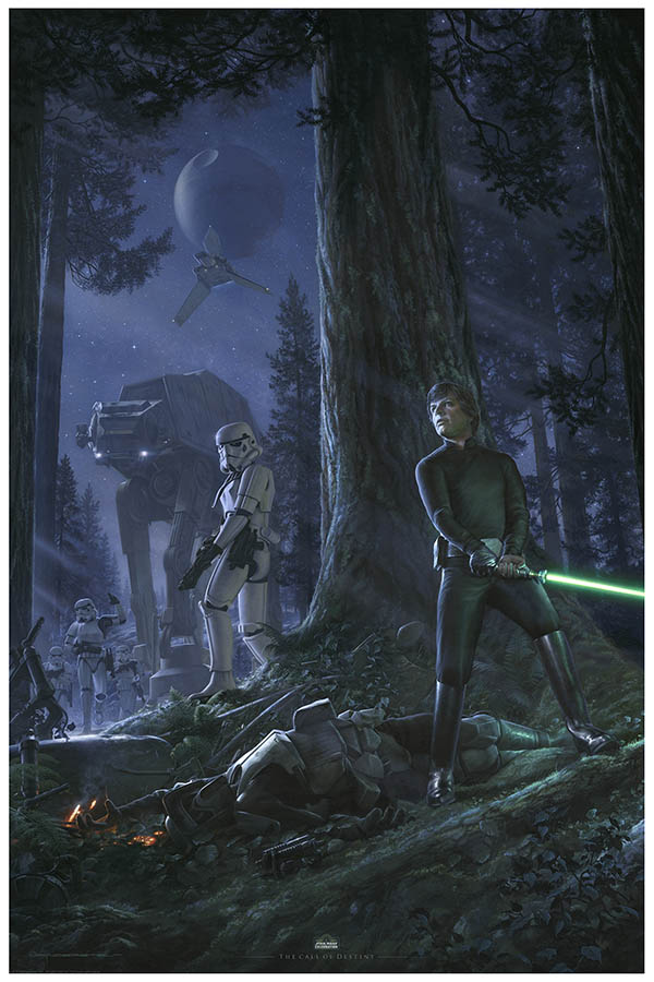 Star Wars Celebration 2019 Art by Jerry Vanderstelt.