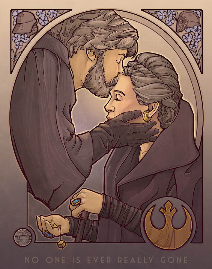 Star Wars Celebration 2019 Art by Karen Hallion.