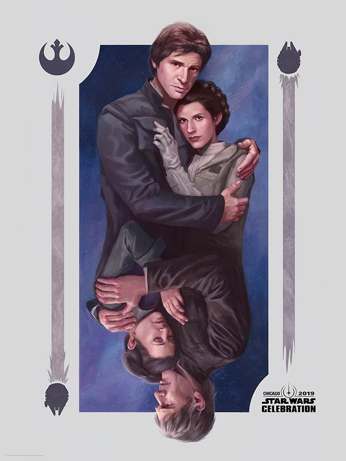 Star Wars Celebration 2019 Art by Kayla Woodside.