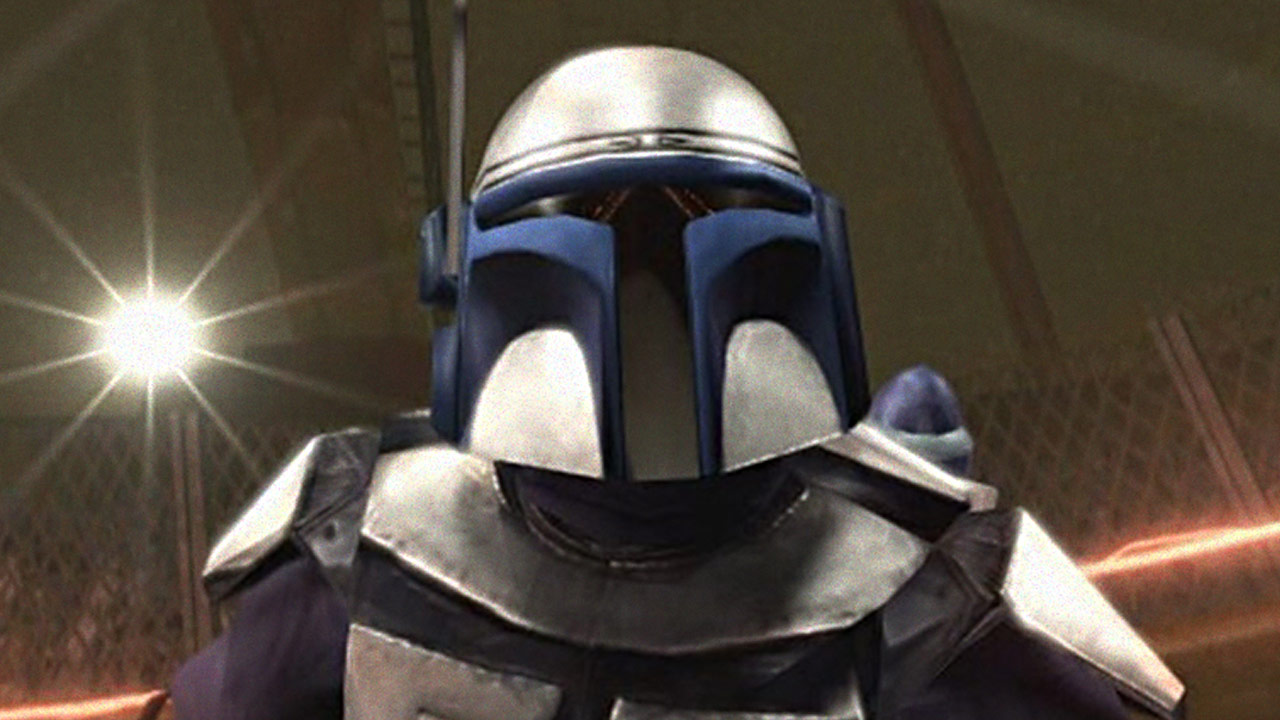 Jango Fett in the game Star Wars: Bounty Hunter.