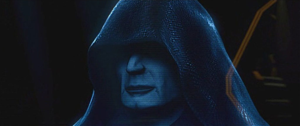 Darth Sidious in the game Star Wars: Bounty Hunter.