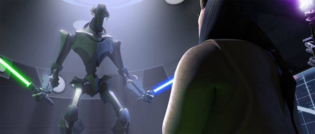 "A scene from ""Grievous Intrigue."""