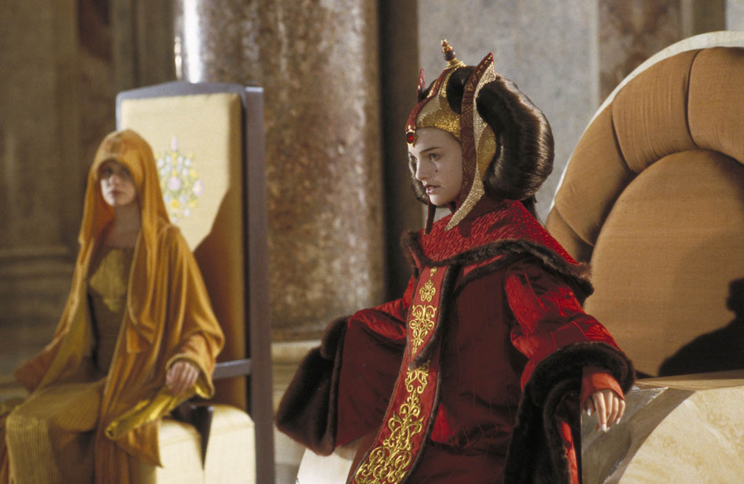 Eirtae and Queen Amidala.