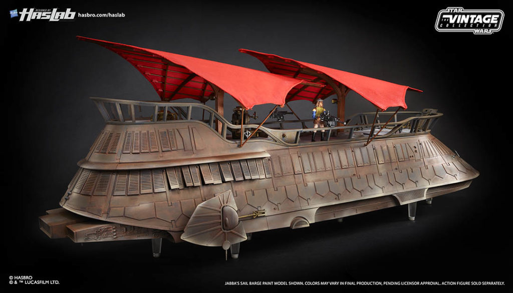The HasLab Jabba's Sail Barge.