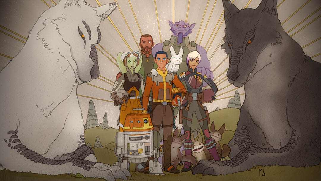 Sabine's family portrait.