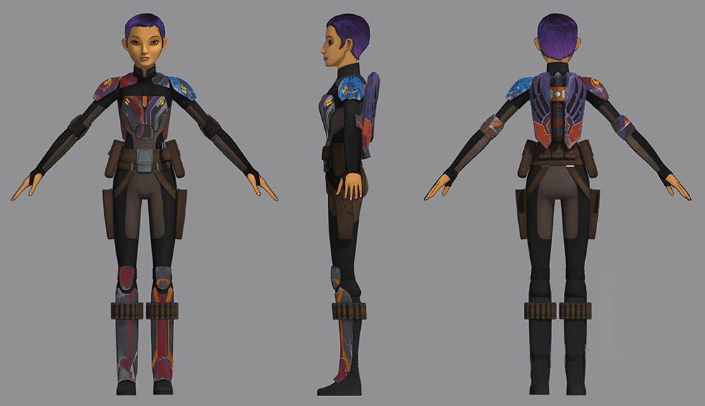 Sabine cosplay reference