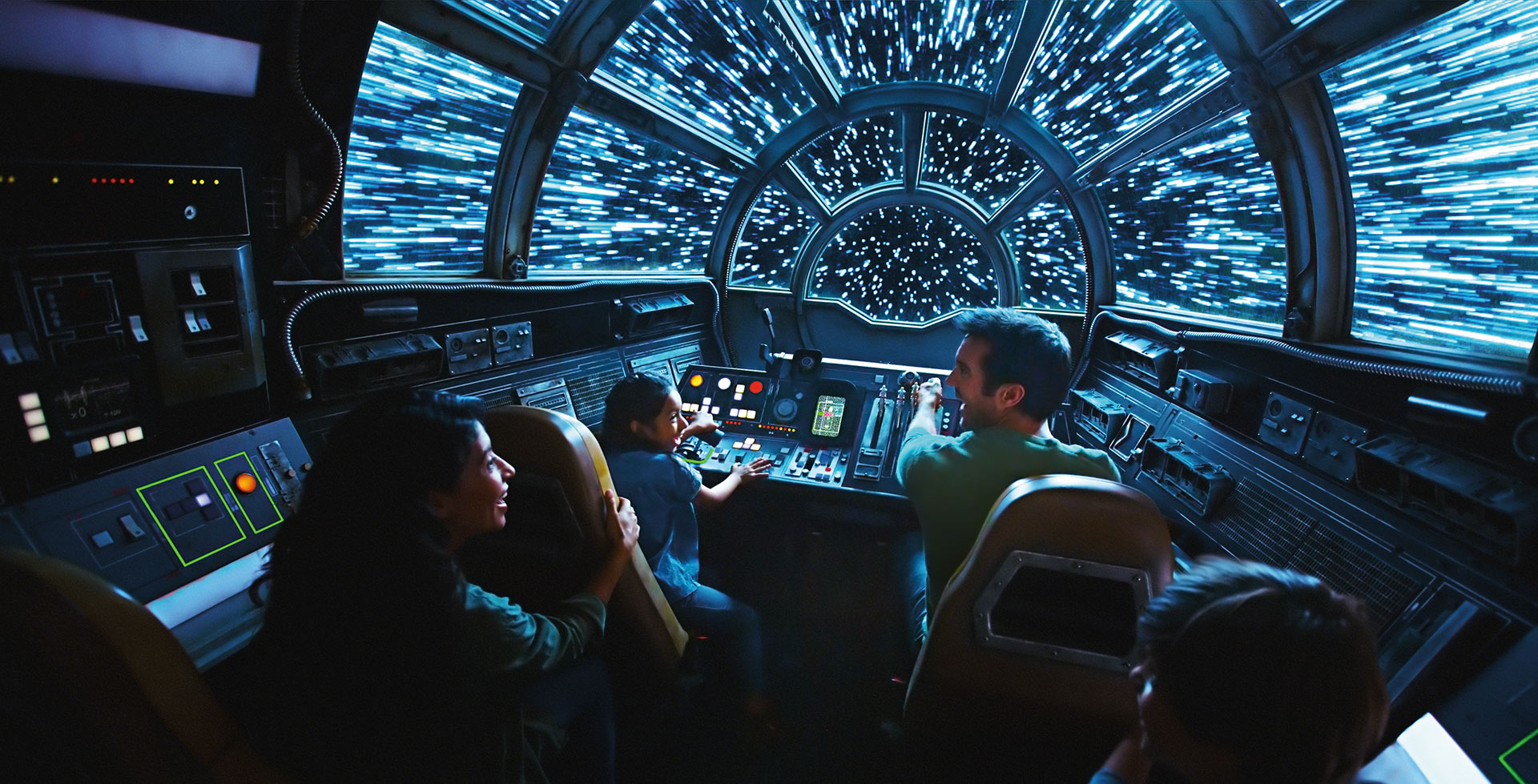 Flying the Millennium Falcon