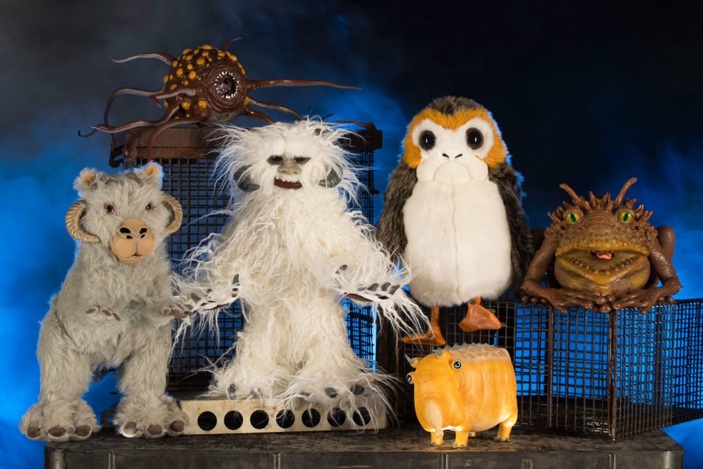 The Creature Stall will offer creatures of the galaxy, including porgs, tauntauns, and more. (David Roark/Disney Parks)