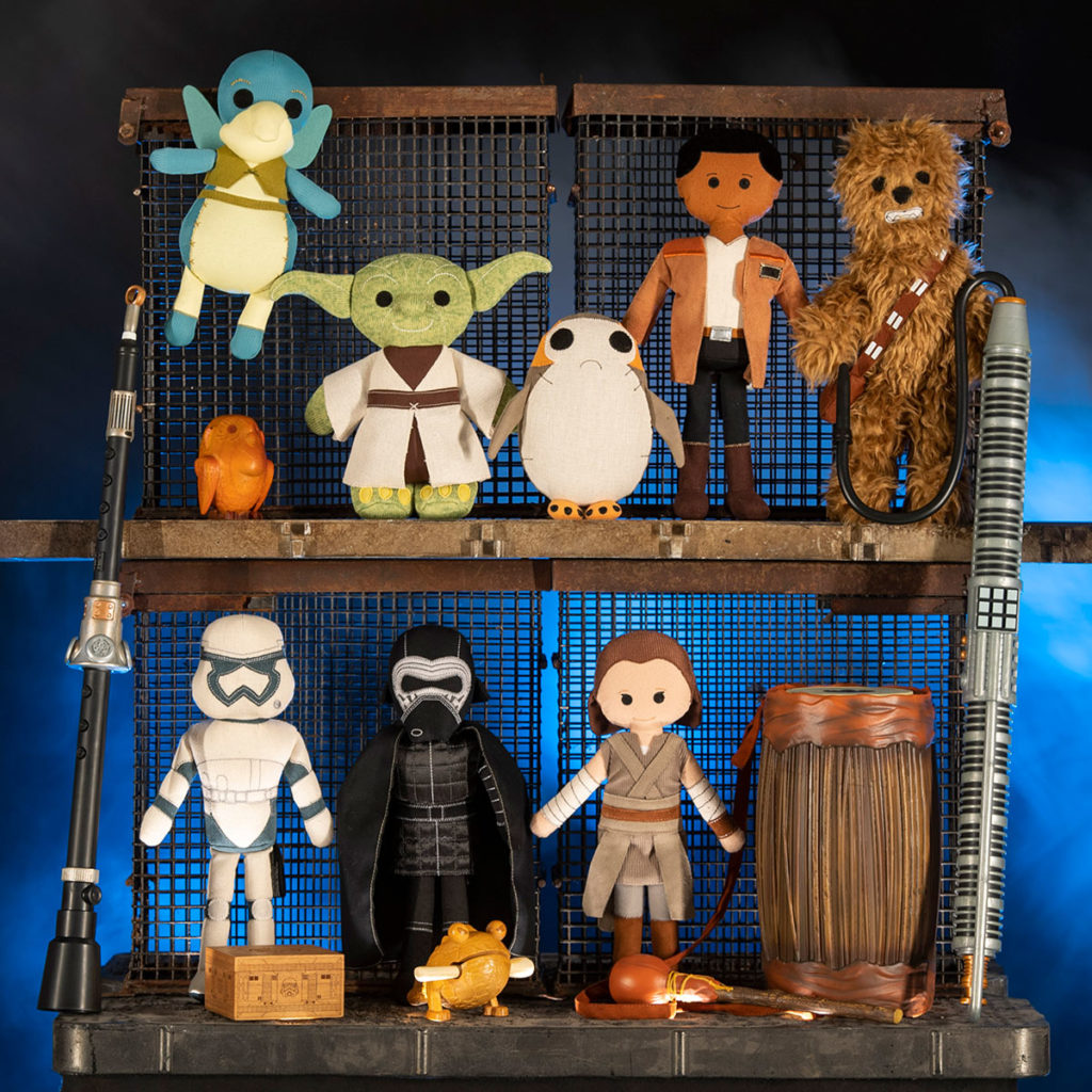 The Toydarian Toymaker stall in Star Wars: Galaxy's Edge will feature an assortment of artisan-style plush characters, wood and tin toys and musical instruments. Star Wars: Galaxy's Edge opens in summer 2019 at Disneyland Resort in California and fall 2019 at Walt Disney World Resort in Florida.