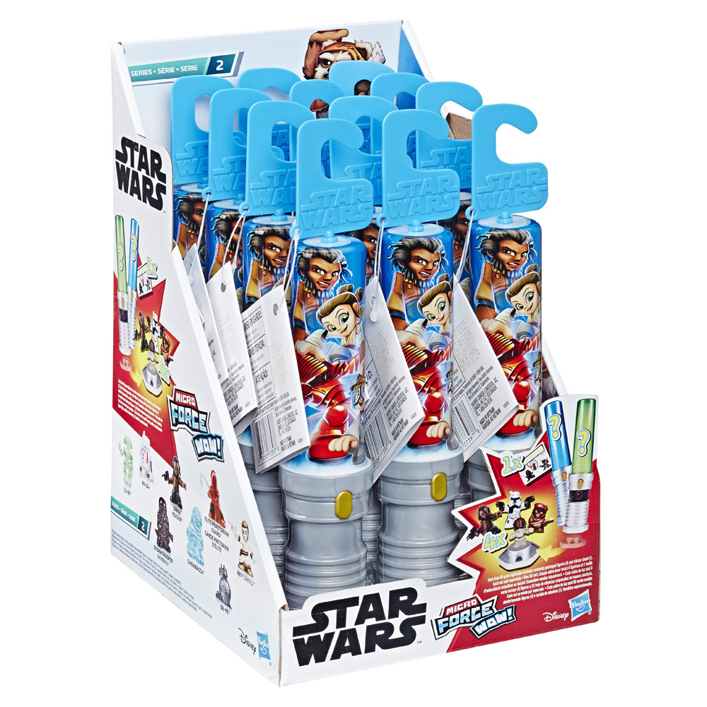 Hasbro Star Wars Micro Force Series 2 packaging