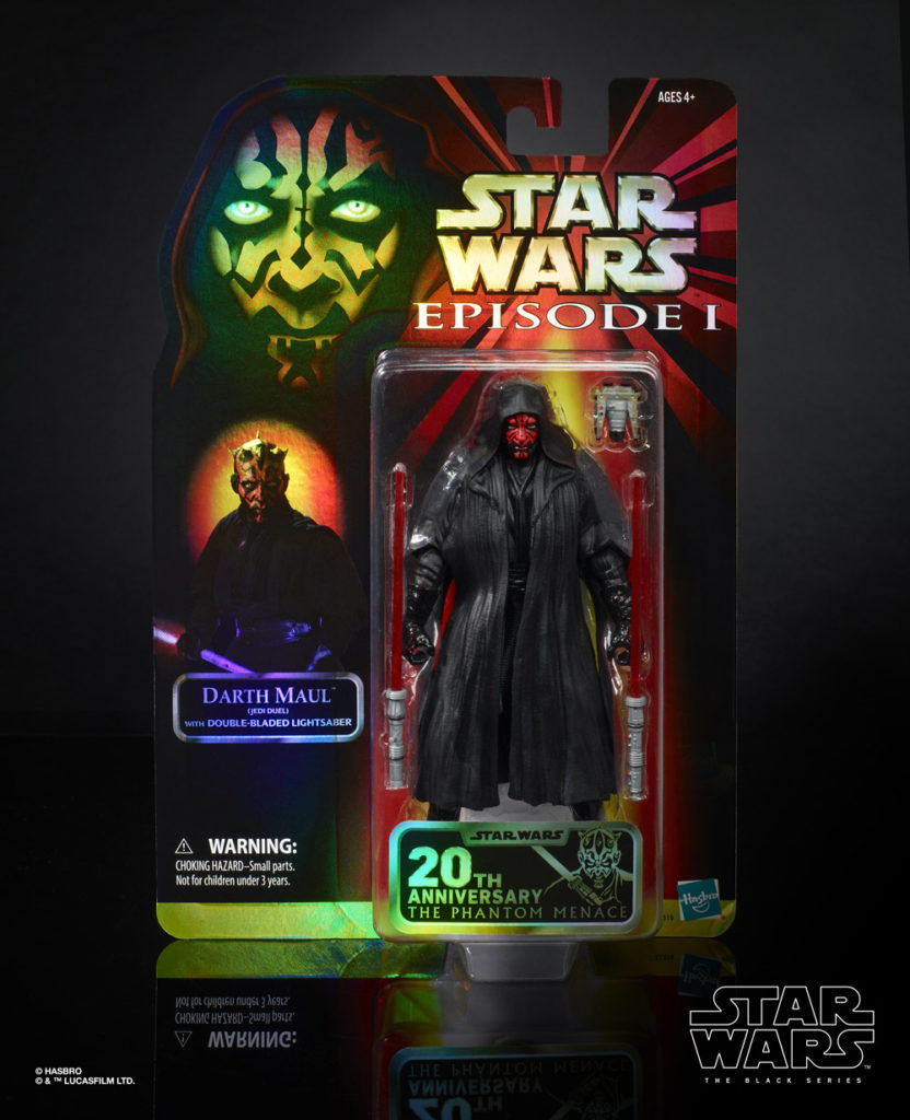Hasbro The Black Series Darth Maul in packaging