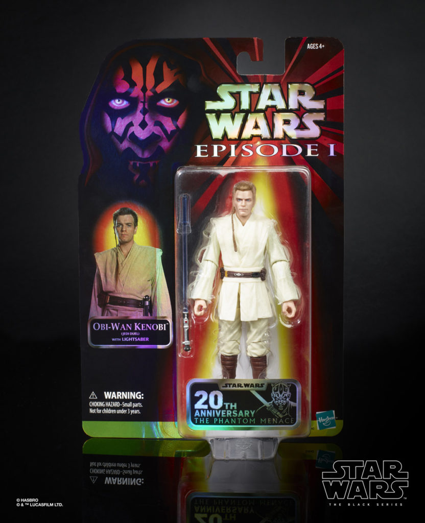Hasbro The Black Series Padawan Obi-Wan in Pack