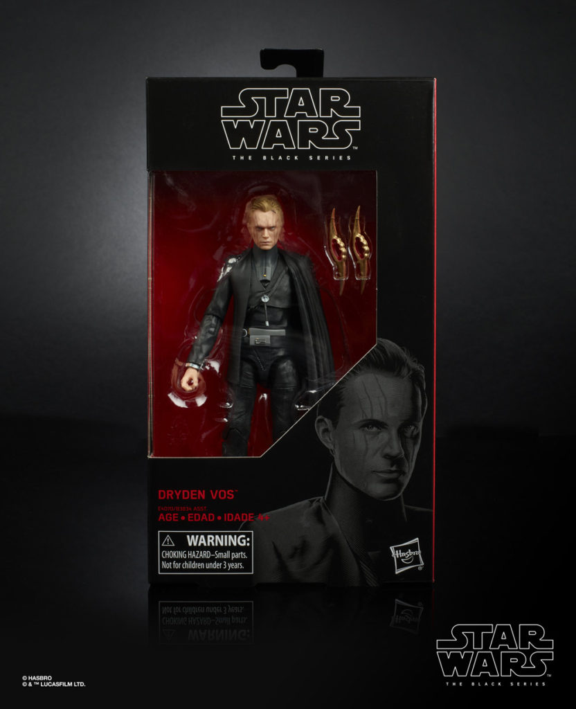 Hasbro The Black Series Dryden Vos