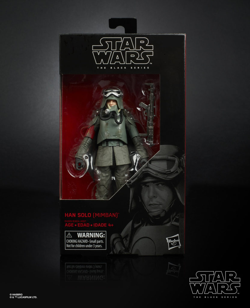 Hasbro The Black Series Mimban Han Solo