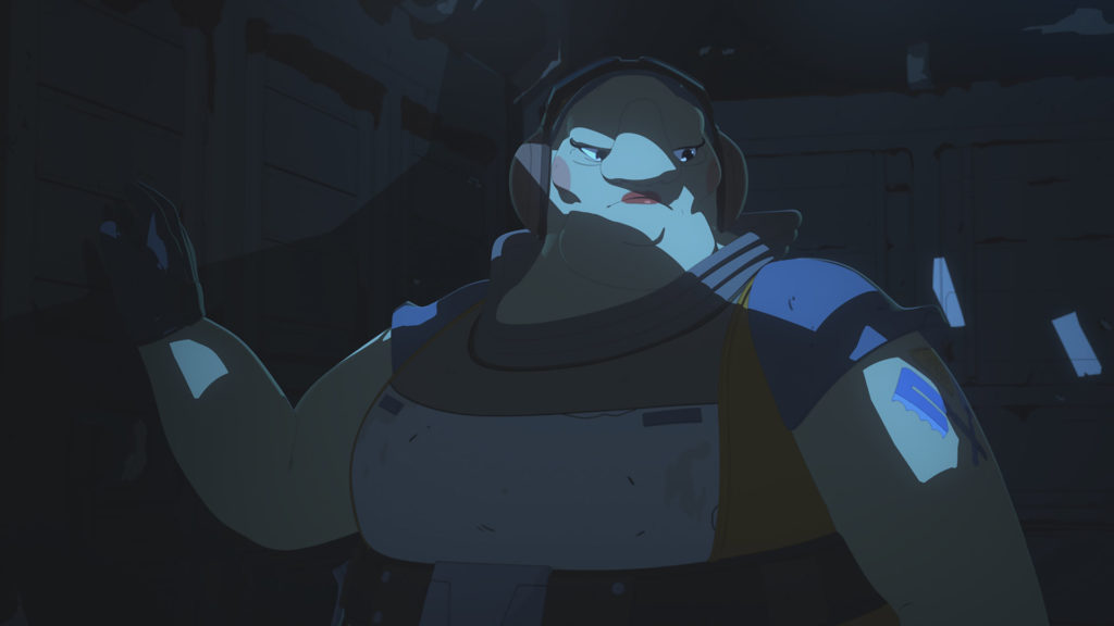 Aunt Z in Star Wars Resistance.