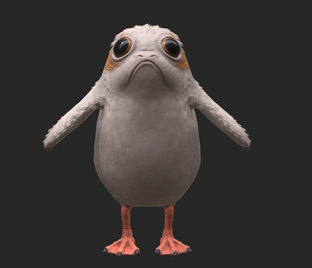 A variety of porgs from project Porg.