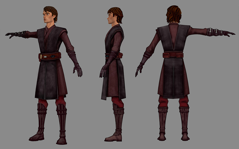 Anakin cosplay reference