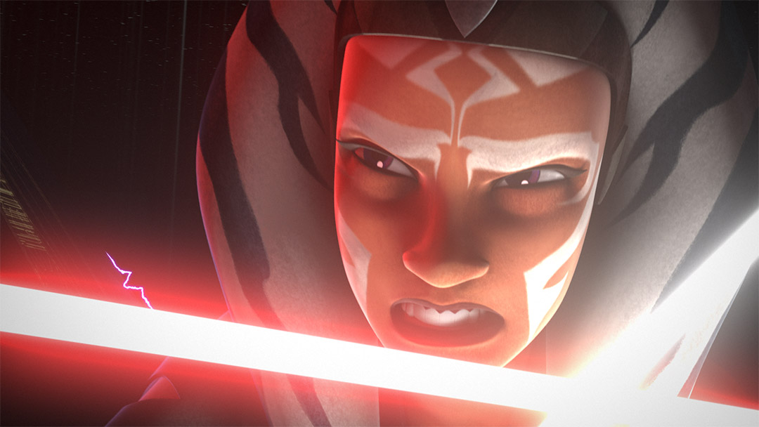 "Ahsoka in ""Twilight of the Apprentice."""