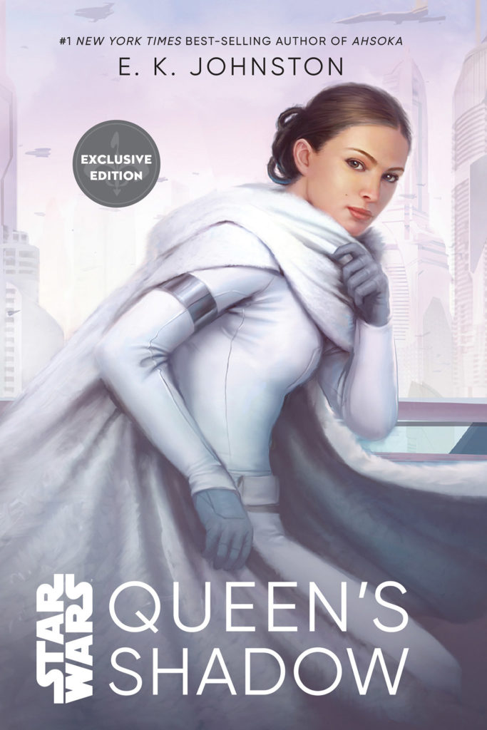 <em>Star Wars</em> Convention exclusive cover of <em>Queen's Shadow</em>