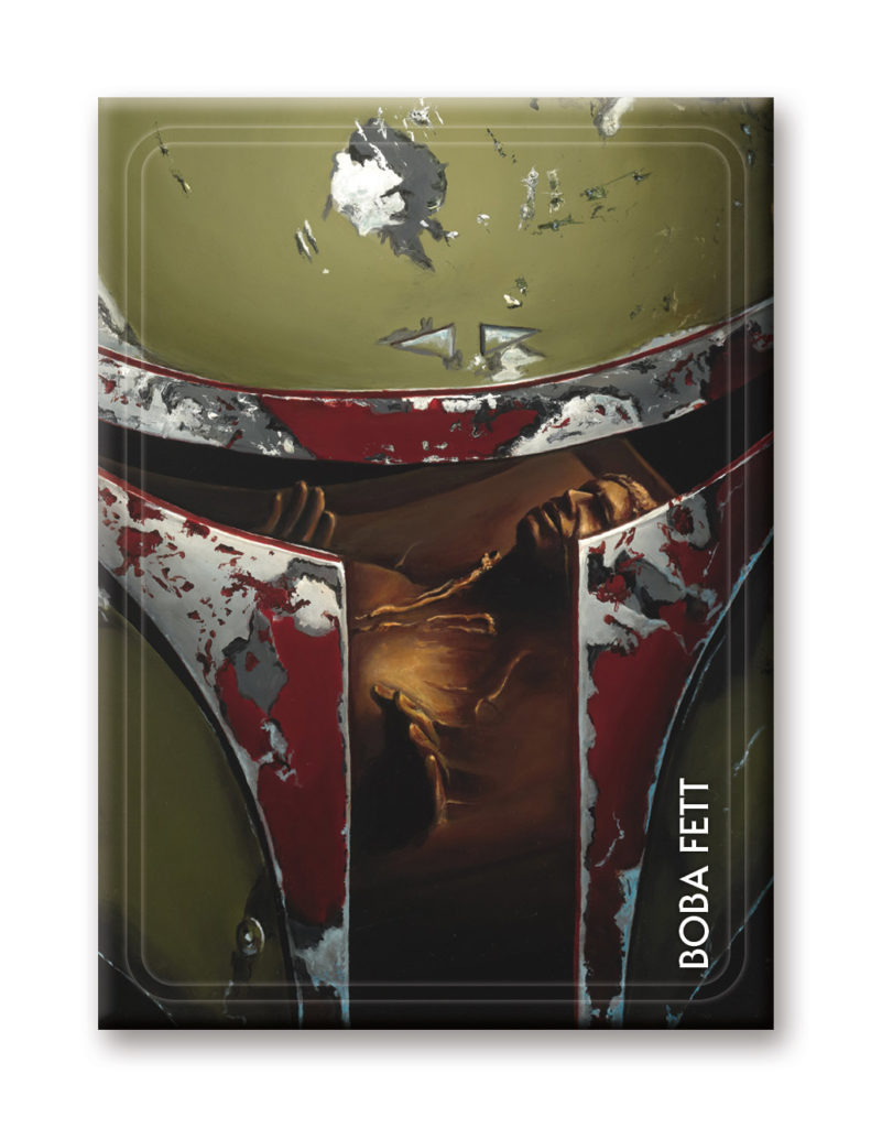 Boba Fett Aquarius magnet - Star Wars Celebration Chicago exclusive
