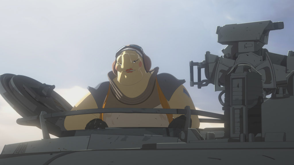 Aunt Z returns in Star Wars Resistance.