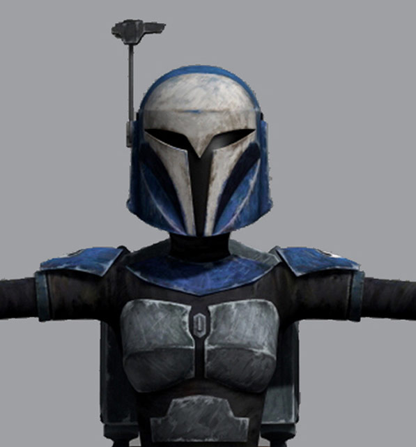 Animation concept art of Bo-Katan.