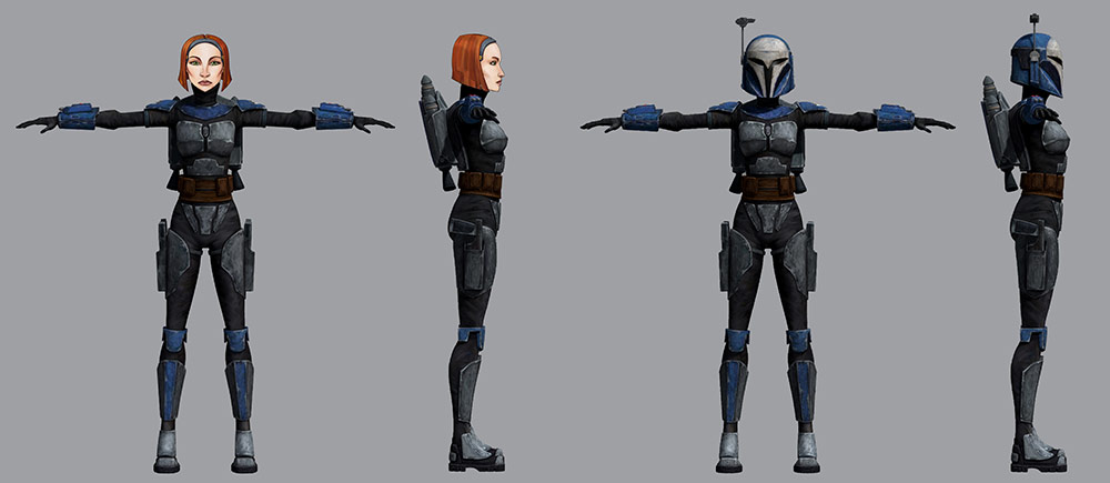 Bo-Katan cosplay reference