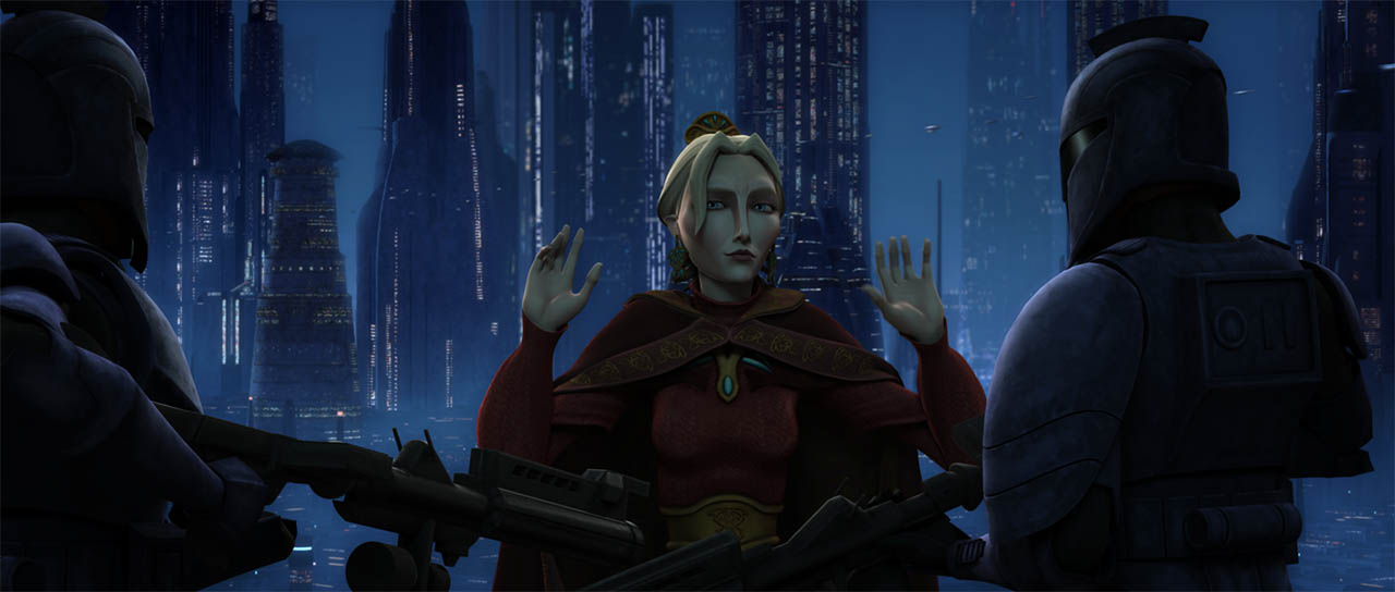 "A scene from ""Duchess of Mandalore."""