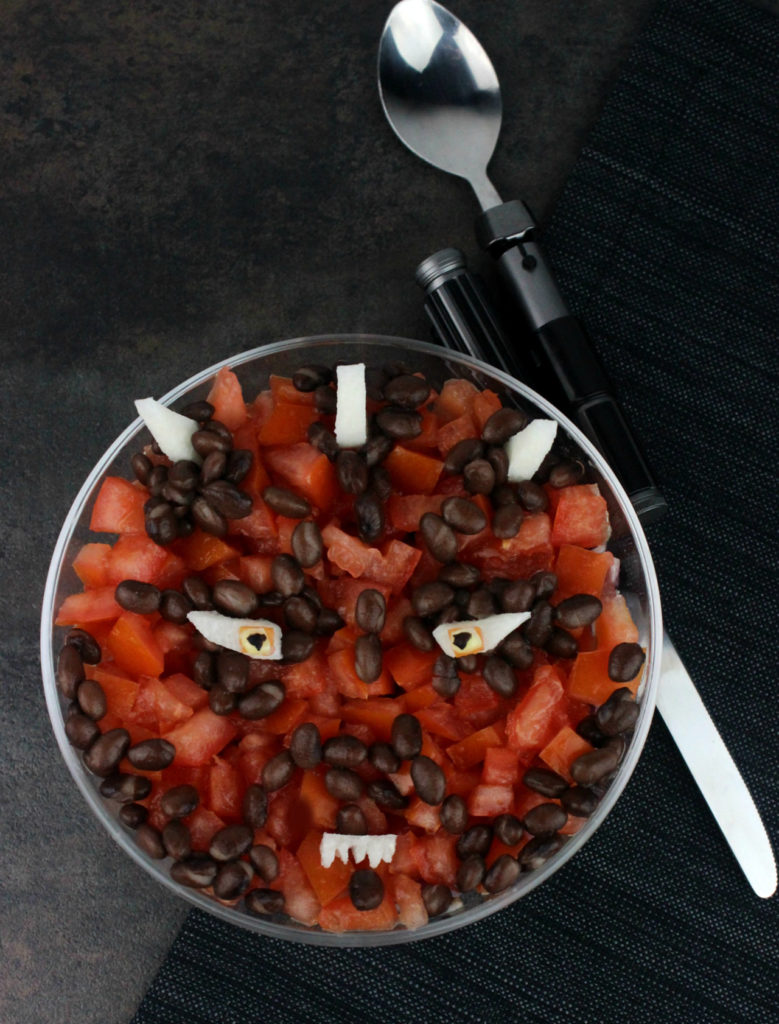 Finished Darth Maul Quinoa Salad.