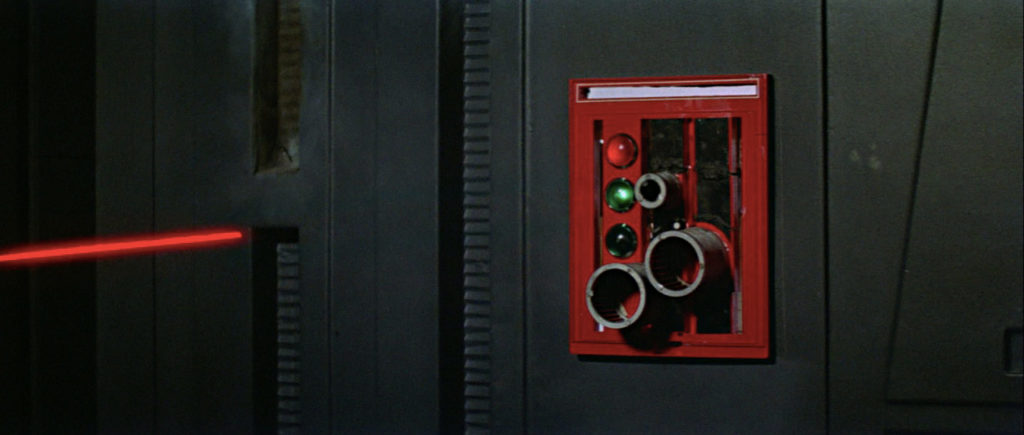 Death Star blast door control panel.