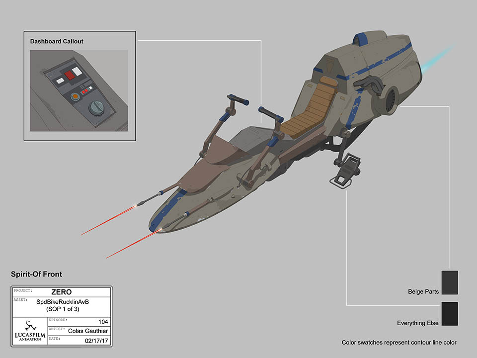 Concept art from Star Wars Resistance