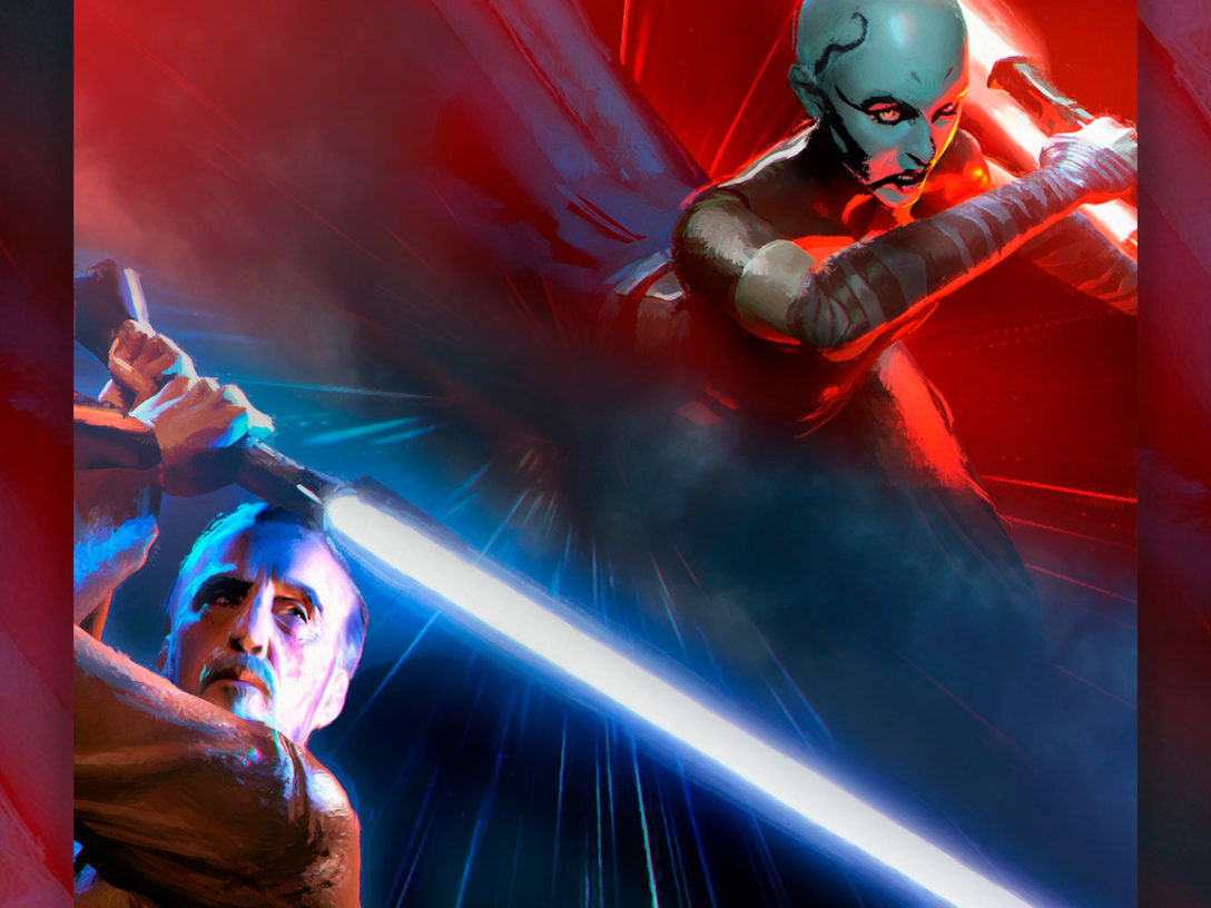 Cover of Dooku: Jedi Lost.