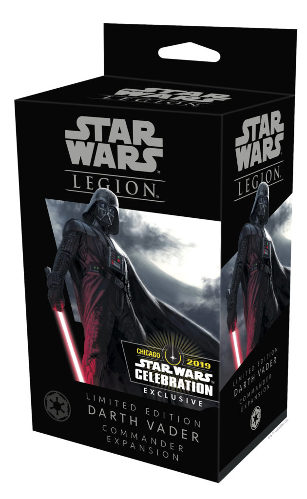 Fantasy Flight Games Star Wars: Legion Limited Edition Darth Vader Commander Expansion - Star Wars Celebration exclusive