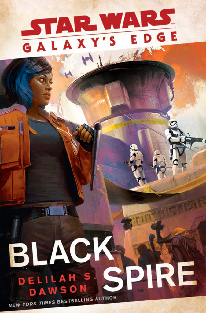 Galaxy's Edge: Black Spire book cover.