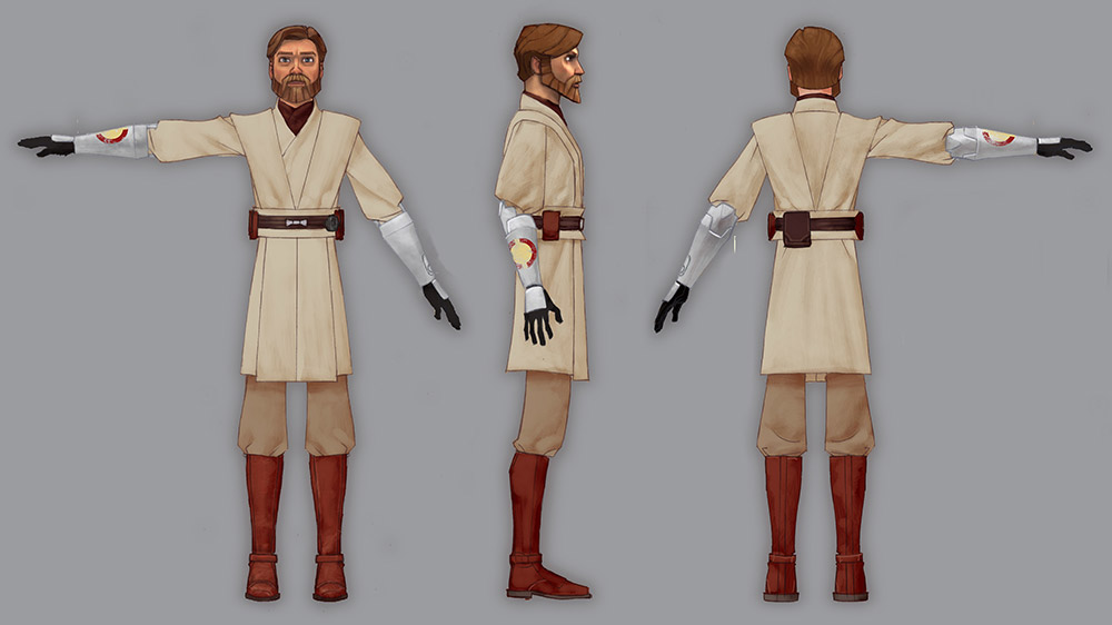 Obi-Wan cosplay reference