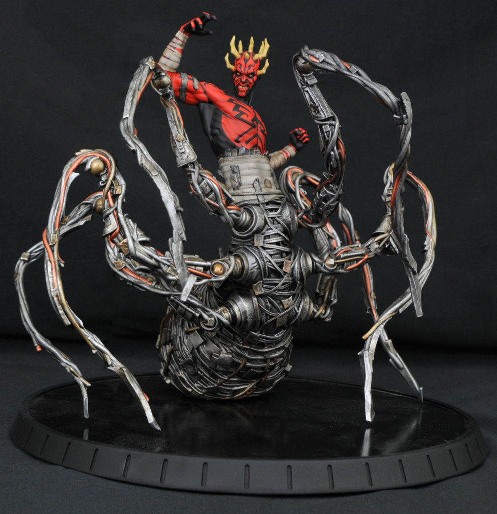 Diamond Select Toys Darth Maul Spider Statue- Star Wars Celebration Chicago exclusive