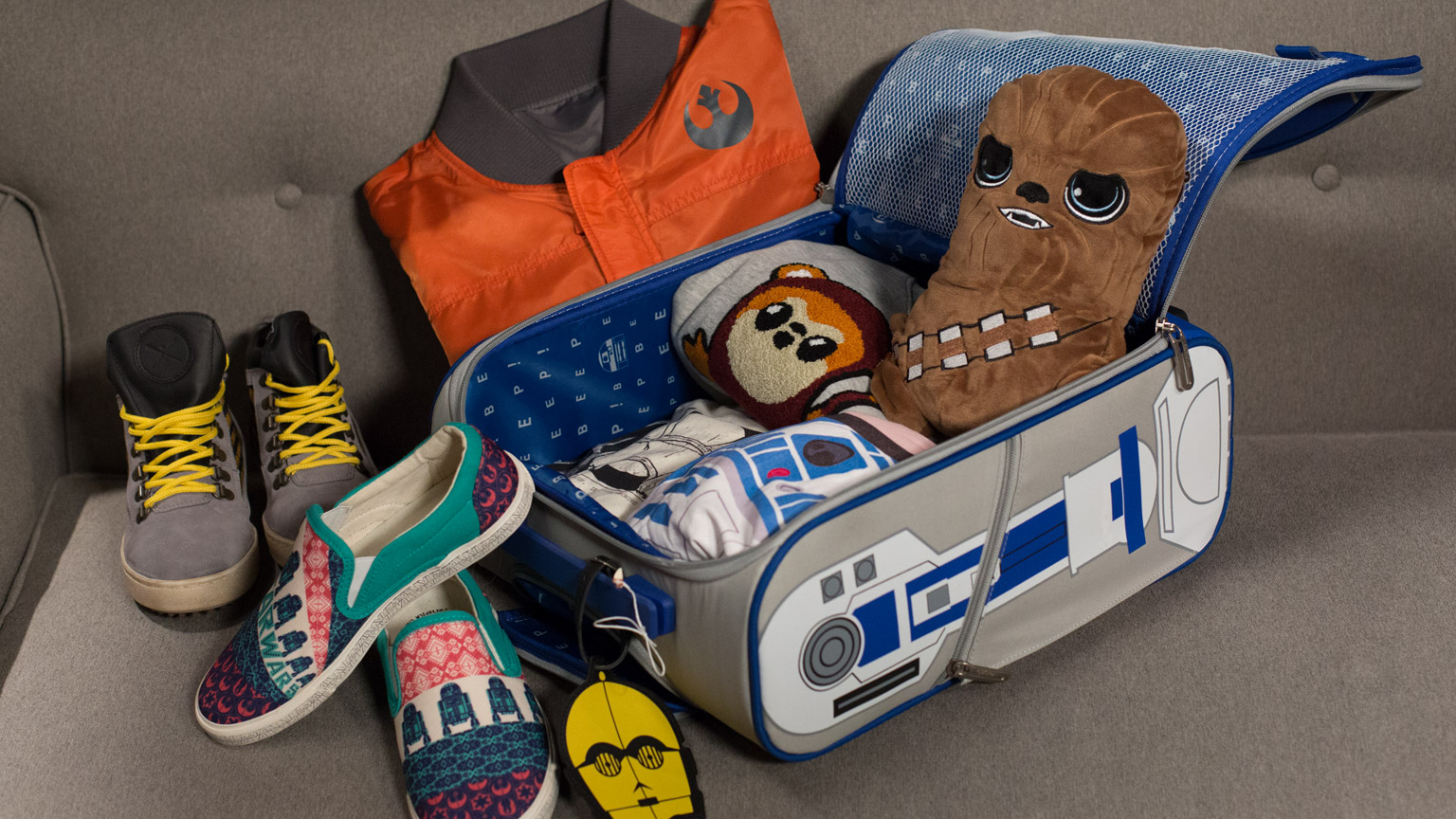 It's time to pack for Star Wars Celebration.