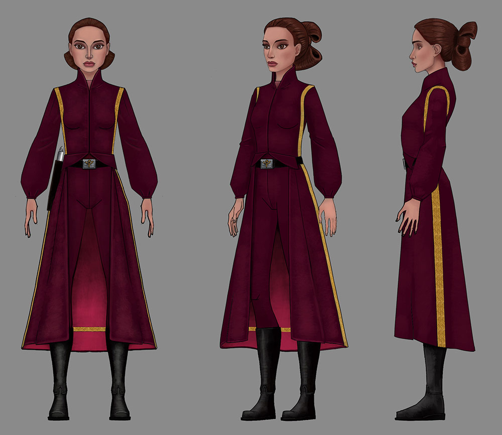 Padme cosplay reference