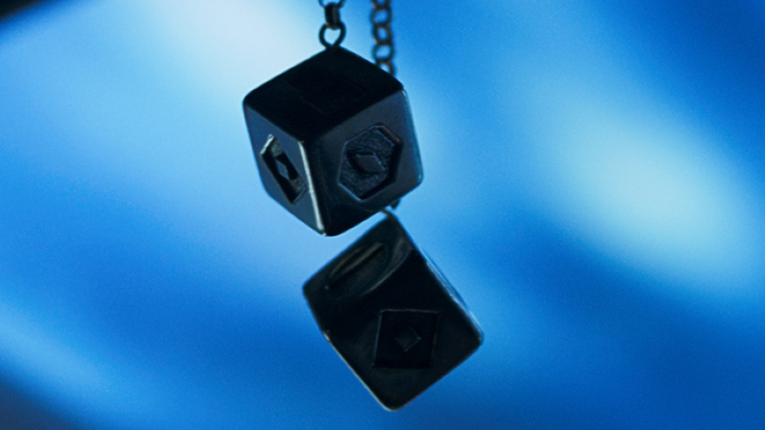 Han's dice as seen in Solo: A Star Wars Story.