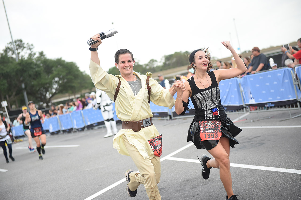 Fans enjoy a runDisney Star Wars event