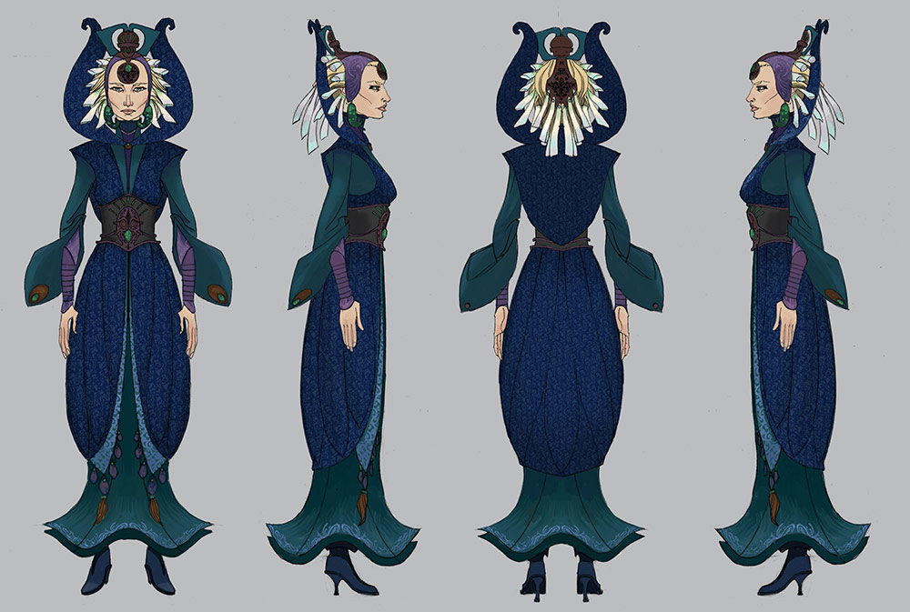 Satine cosplay reference