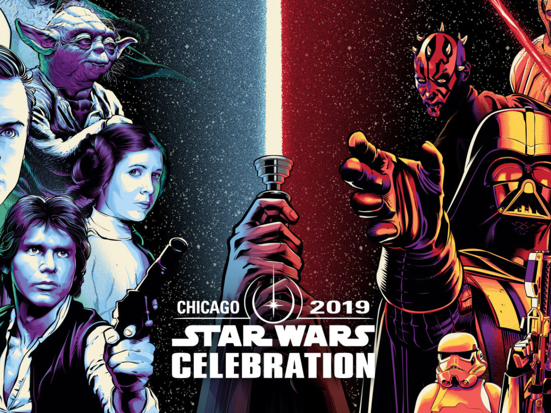 Star Wars Celebration Chicago art.
