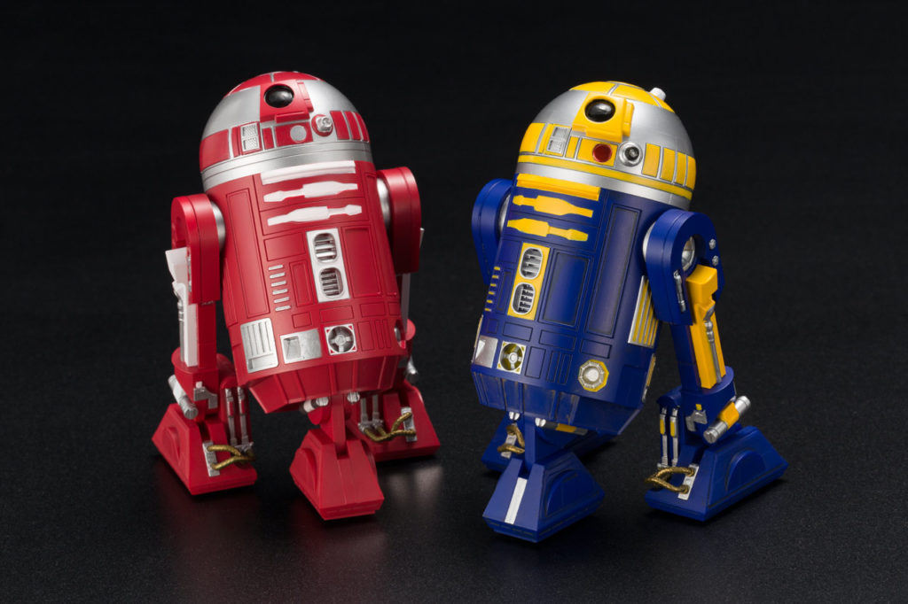 Kotobukiya R2 units - Star Wars Celebration Chicago exclusive