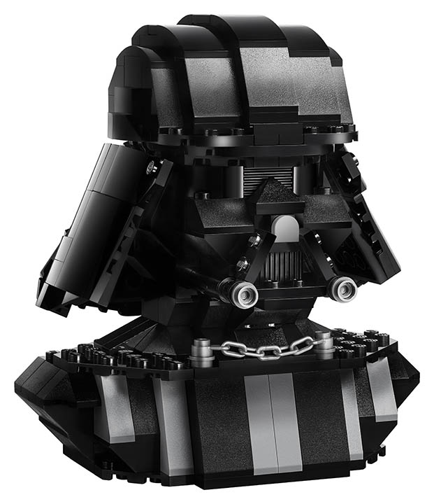 A LEGO bust available only at Star Wars Celebration Chicago.